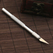 Wood Carving Pen Paper Cutter Sculpting Cutting Hand Craft Knife +5 Blades Envy