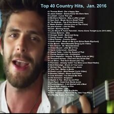 Country Music Promo DVD, Top 40 Country Hit Videos Jan. 2016! NEW ONLY on Ebay!