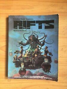Rifts Main Rulebook - 1st edition - Palladium Books - Softcover - 1990