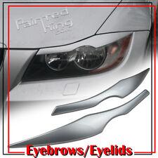 BMW E90 eyelids/eyebrow Headlight Cover 05 08 11 silver 354