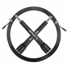 JUMP ROPE FAST with Ball Bearing Handles - Adjustable Suitable Speed Skipping