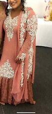 Pakistani/Indian Heavy work, Bridal Dress. Pink/Silver Beautiful Designer Lehnga