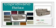 COPRIDIVANO BIELASTICO RELAX  3 posti(PRODOTTO ITALIANO)