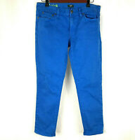 J.Crew Womens Size 30 Toothpick Skinny Jeans Blue Denim Slim Mid Rise Stretch