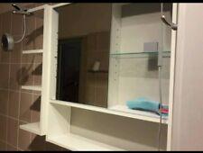 IKEA Badezimmerschrank Badregal Spiegelschrank weiß