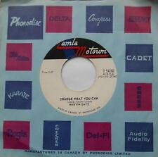 *MARVIN GAYE Change what you can / You NM CANADA ORIG 1967 TAMLA MOTOWN SOUL 45