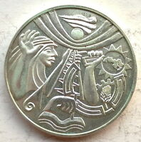 IRAQ 1968 10th Anniversary of Revolution Silver Coin