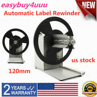 Automatic Label Tags Rewinder Bidirectional Speed Adjustable Rewinding Machine