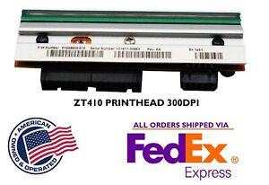 NEW Generic Printhead Print Head Zebra ZT410  Printer 300dpi P1058930-010 A63