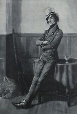 Buchanan's Whisky Pickwick Papers Jingle Frank Reynolds 1912 Advertisement Ad