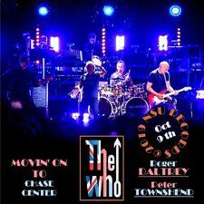 The Who  -  Live in SAN FRANCISCO, CA  2019 SEPTEMBER 8th   LTD  2 CD