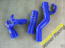 SILICONE TURBO BOOST HOSE FOR AUDI S4 C4 2.2L AAN R5 20VT NON UK COOLANT BLUE