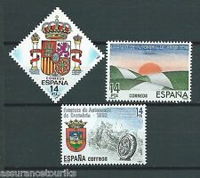 ESPAGNE - 1983 YT 2307 à 2309 - TIMBRES  NEUFS** LUXE