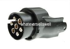 12v 7 PIN 12N VEHICLE to 13 PIN TRAILER CONVERSION ADAPTER towball towing towbar