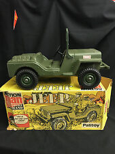 VINTAGE ACTION MAN - US JEEP BOXED