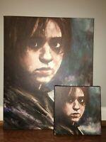 MAISIE WILLIAMS Actress PHOTO Print POSTER Series Art Game Of Thrones Falling 01