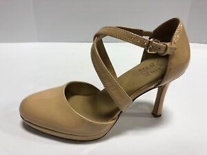 Naturalizer Cruzen Nude Patent High Heel Pumps Women's Size 7.5 Wide