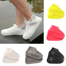 Portable Reusable Waterproof Shoe Cover Silicone Rain Boots Outdoor Overshoes