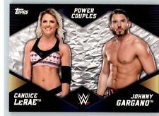 2018 WWE Women's Division Power Couples #8 Candice LeRae Johnny Gargano