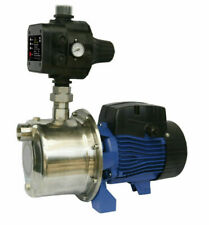Bianco BIA-INOX60S2MPCX 450W Clean Water Pump with Auto Control- Blue/Silver