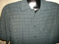 Men's Joseph & Feiss Short Sleeve Button Down Shirt Size XL