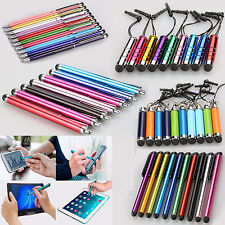 10x Universal Mini Extendable Stylus Clip Ball Point Touch Screen Pen For Phones