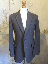 Hombre Vintage Marrón de cuadros Bladen Tweed Traje Talla 40