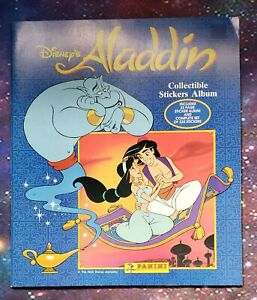 Disney's Aladdin Sticker Album with Complete Sticker Set Panini