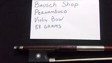 AUTHENTIC BAUSCH SHOP --- HAND MADE GERMAN VIOLIN BOW  --- #2823