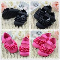 Infant Kids Girl Soft Sole Crib Toddler Baby Newborn Anti-slip Shoes 0-18 Months
