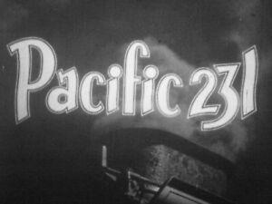 "Extremely Rare 16mm FILM   ""Pacific 231""  Steam Locomotive Railroad Train Movie"
