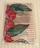 Vera Bradley Soft Fringe Scarf Vintage Floral Pink Rayon Soft NWT MSRP $38