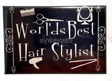 World's Best Hair Stylist Vintage Chalkboard Country Style 2