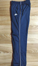 Nike Vintage Womens Tracksuit Pants Trousers Training GYM Navy Blue