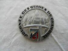 ancien insigne de ski - école ski français - Alpe du Mont de Lans et de Venosc