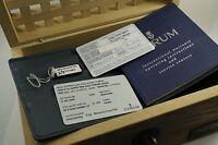 CORUM BUBBLE PRIVATEER ORIGINAL WOODEN BOX LIMITED ED CARDS/BOOKS REF.08215747