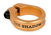 """SHADOW CONSPIRACY ALFRED BMX BIKE BICYCLE SEAT POST CLAMP 1 1/8"""" SUBROSA COPPER"""
