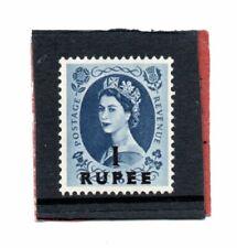 British Postal Agencies Qe2 1956-57 1r. on 1s.6d. sg 64 H.Mint
