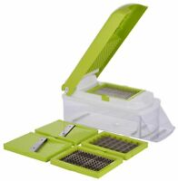 SUPER MAGIC SLICER VEGETABLE SALAD FRUIT PEELER CUTTER CHOPPER GRATER DICER
