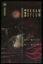 Batman Arkham Asylum Hardcover HC 1st Ed. Dark Knight Joker Scarecrow Poison Ivy