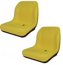 Set Of 2 High Back Seats For John Deere Trail Worksite Amp Turf Gator 4x2 6x4