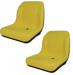 Set of 2 High Back Seats for John Deere Trail, Worksite & Turf Gator 4X2 6X4