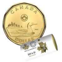 2020 CANADA $1 DOLLAR BRILLIANT UNCIRCULATED FIRST STRIKE LOONIE COIN