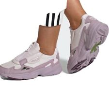 Adidas  Women's Running  shoes White/ purple Size 8 The Original Price Is $120