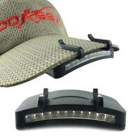 11 LED Clip-On Camping Cap Light Cycling Hiking Hat Camping Caplight Hard Light