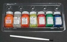 Testors Fluorescent Paint Kit - Hobby and Model Paint Set - #9132