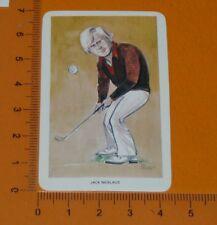 VENORLANDUS CARD 1979 OUR HEROES SPORT JACK  NICKLAUS USA GOLF
