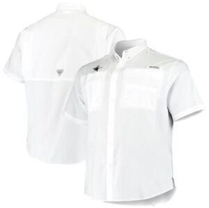 NWT Men's NFL Dallas Cowboys Columbia Tamiami Fishing White T-Shirt Sz. Large
