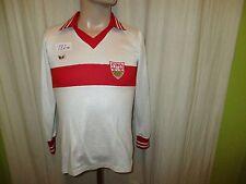 "VfB Stuttgart erima Heim Langarm Trikot 1978/79 ""ohne Hauptsponsor"" Gr.S"