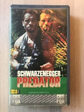 Predator Ex-Rental Vintage VHS Tape English  dutch subs CBS FOX